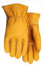 Majestic Gloves - Industrial Top Grain Large Elk skin Gloves