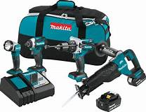 XT450T 4pc Makita Combo Kit 18volt