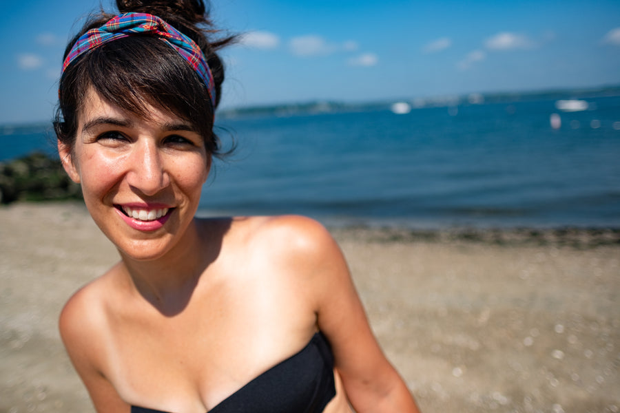 "Featured: ""Akumal"" Wire-Framed Headband"