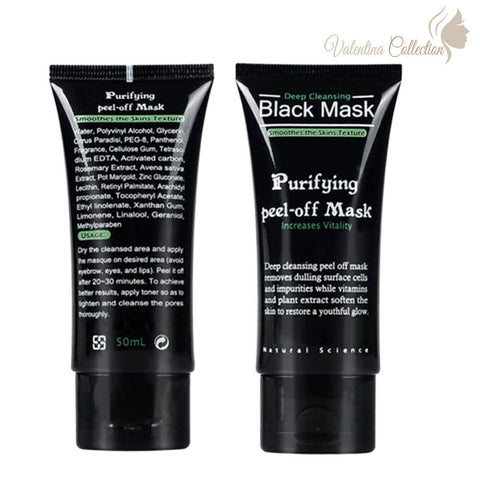 Get Rid of Black Heads with this Purifying Peel-off Mask
