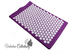 Acupuncture Mat for Immediate Back Pain Relief. Bed of Nails Acupressure