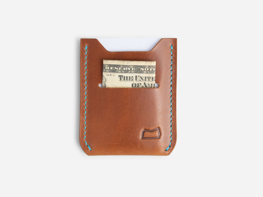 The Grant Wallet - Buck Brown Harness