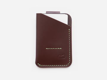 The Anderson Wallet - Acadia Mahogany