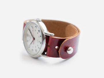 Ruby Fuego Pass-Through Watch Band