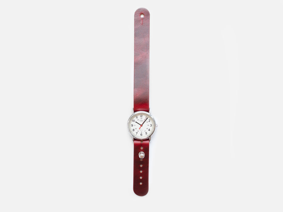 Pass-Through Watch Band In Ruby Fuego - Limited Edition