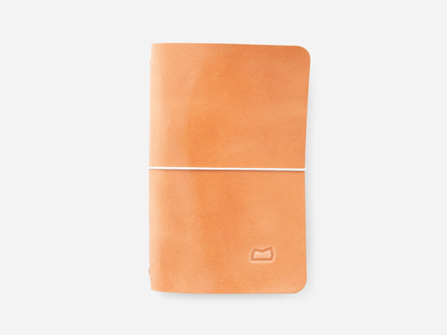 Leather Notebook Cover in Russet Harness