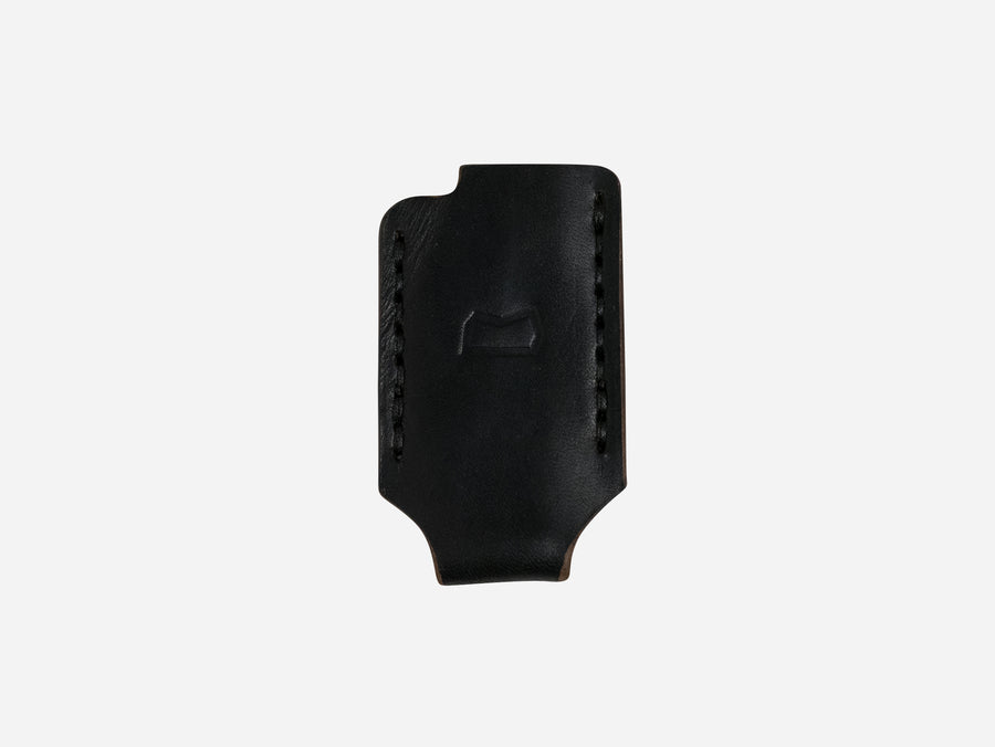 Leather Lighter Case in Black Horween Chromexcel