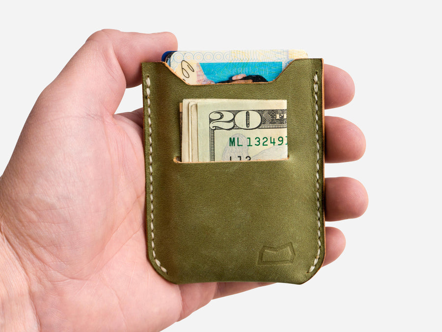 The Grant Wallet - Moss Green