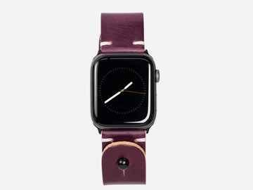 Apple Watch Band - Grape Wickett and Craig