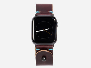 Apple Watch Band - Burgundy Horween Chromexcel® Leather