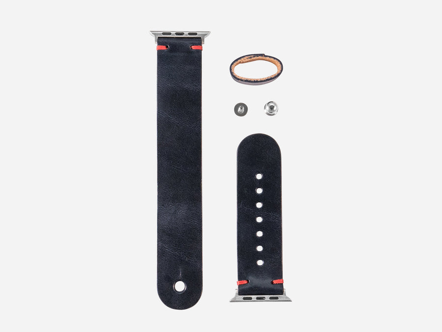 Apple Watch Band - Navy Wickett and Craig