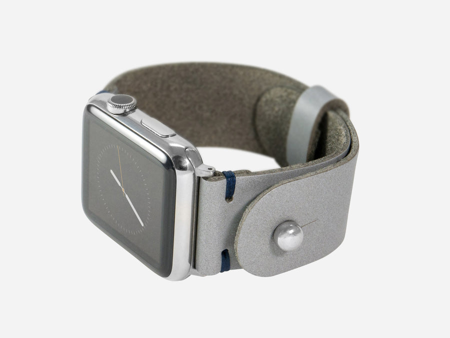 Apple Watch Band - Grey La Perla Azzurra