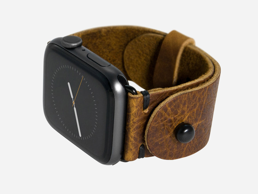 Apple Watch Band - Walnut Bison