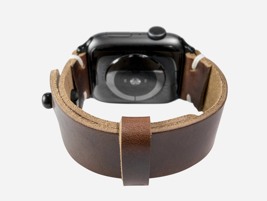 Apple Watch Band - Brown Horween Chromexcel®