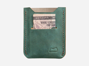 The Grant Wallet - Ink Blue (Ready to Ship)