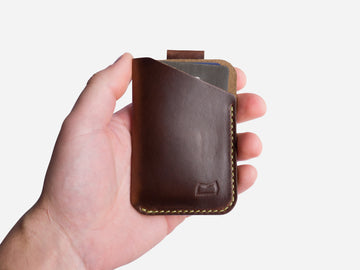 The Anderson Wallet - Brown Horween Chromexcel