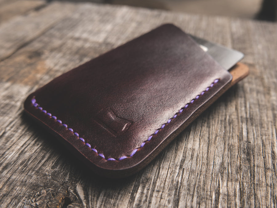 The Anderson Wallet - Burgundy Horween Chromexcel