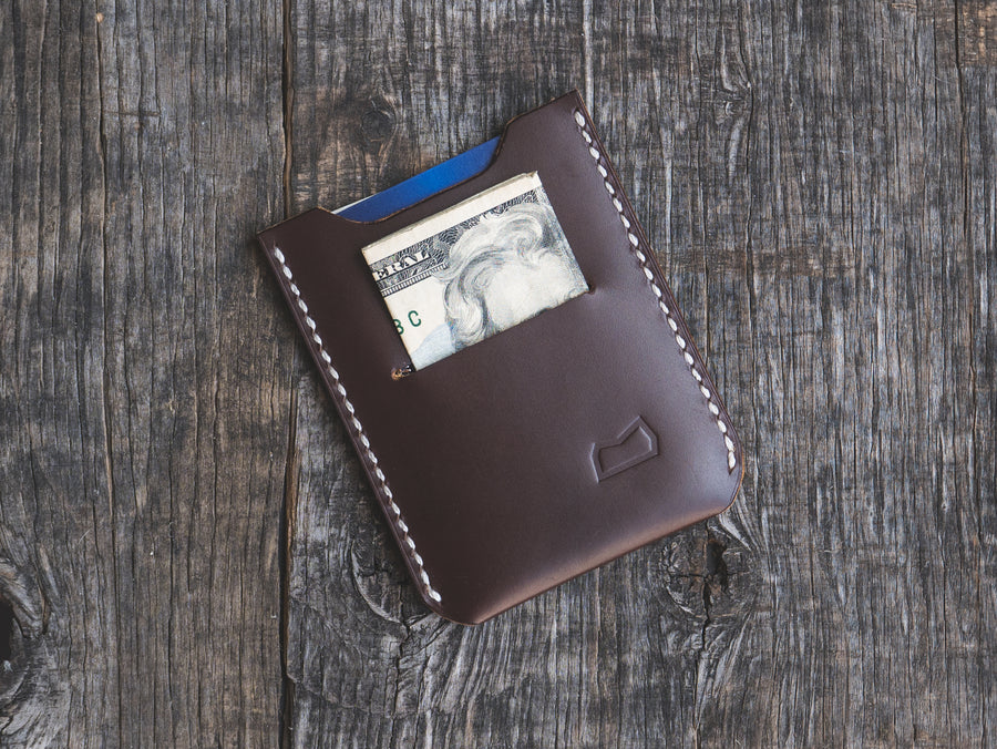 The Grant Wallet - Peruvian Mahagony (ready to ship)
