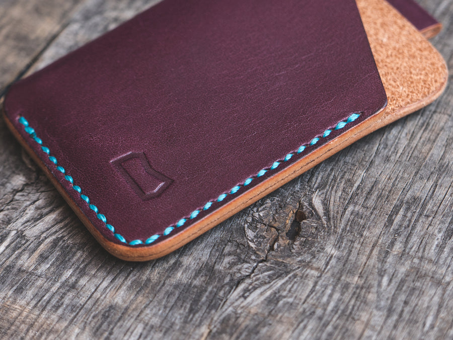 The Anderson Wallet - Grape