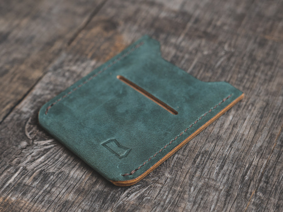 The Grant Wallet - Ink Blue