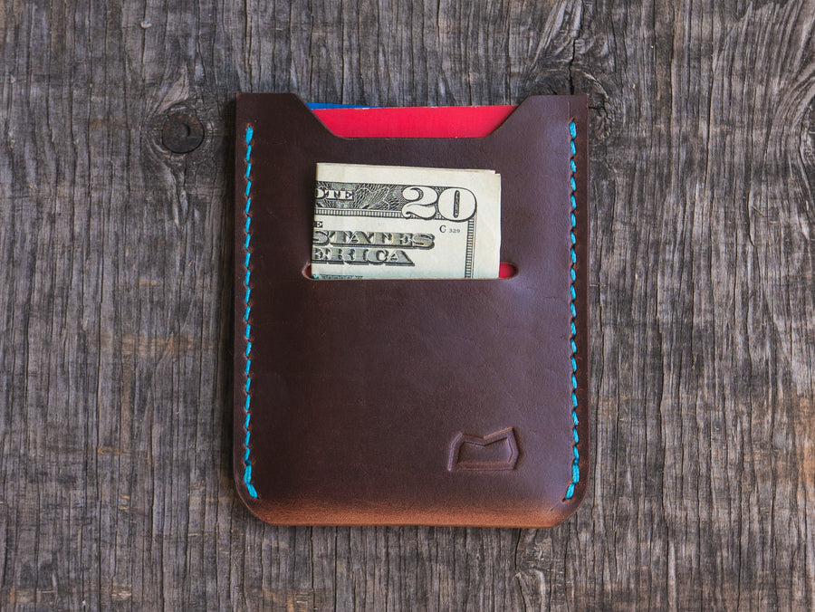The Grant Wallet - Brown Horween Chromexcel