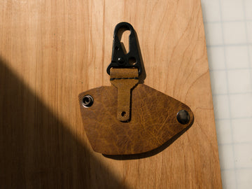 Ultimate Keychain in Walnut Bison (Samples & Seconds)