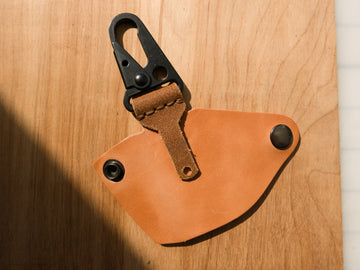 Ultimate Keychain in Russet Harness (Samples & Seconds)