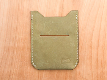 The Grant Wallet - Moss Green (Sample)