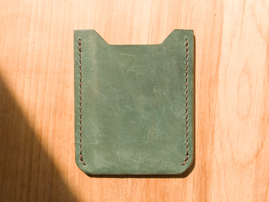 The Grant Wallet - Ink Blue (Sample)