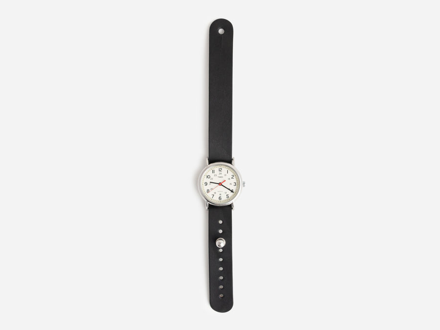 Black Harness Pass-Through Watch Band