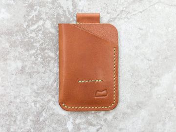 The Anderson Wallet - Buck Brown (Ready to Ship)