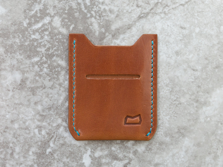 The Grant Wallet - Buck Brown Harness (Ready to Ship)