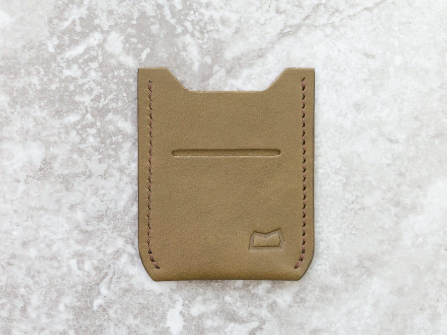 The Grant Wallet - Olive Bridle Wickett and Craig (Ready to Ship)
