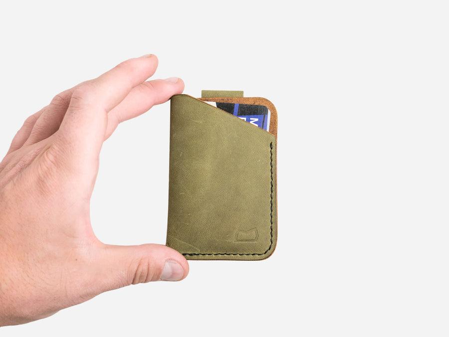 The Anderson Wallet - Moss Green