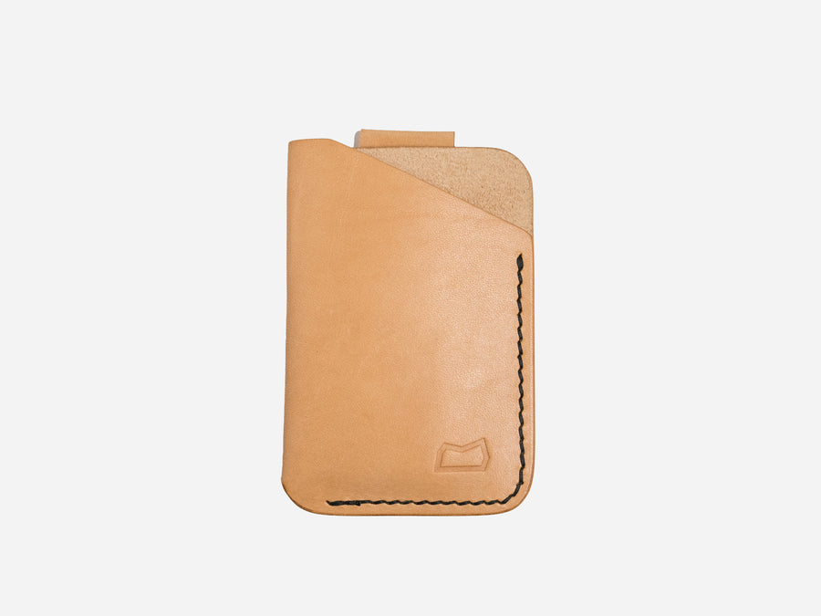 The Anderson Wallet - Natural Vegetable Tanned