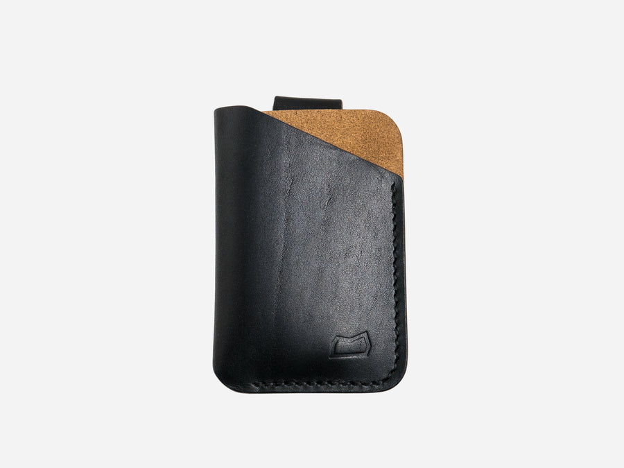 The Anderson Wallet - Black Horween Chromexcel