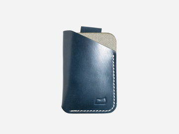 The Anderson Wallet - Navy Tochigi