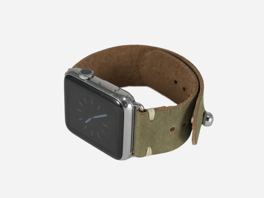 Moss Green Apple Watch Band