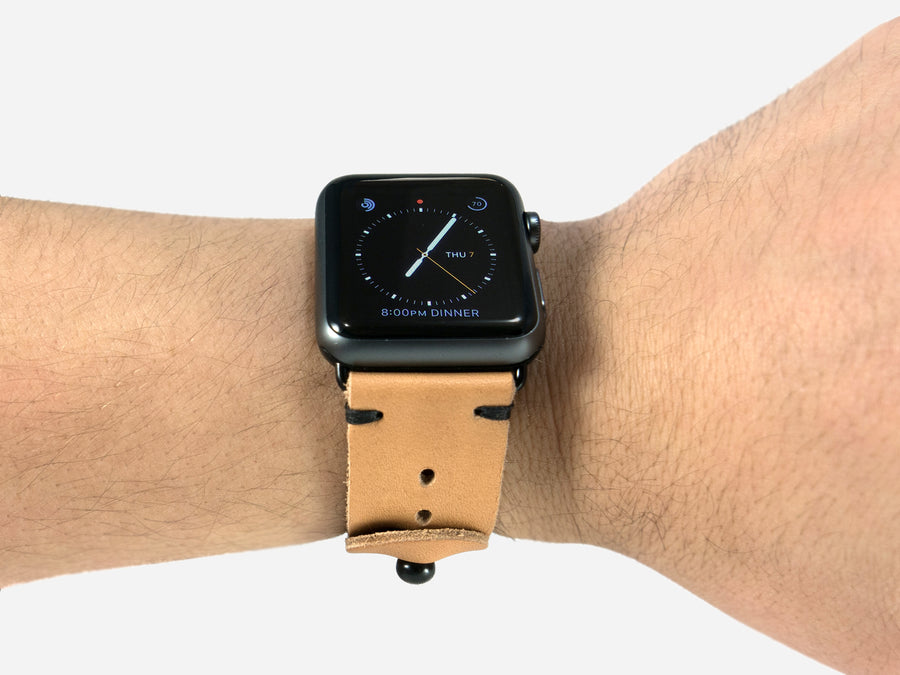 Apple Watch Band - Horween Natural Essex