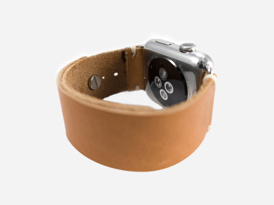 Horween Natural Essex Apple Watch Band