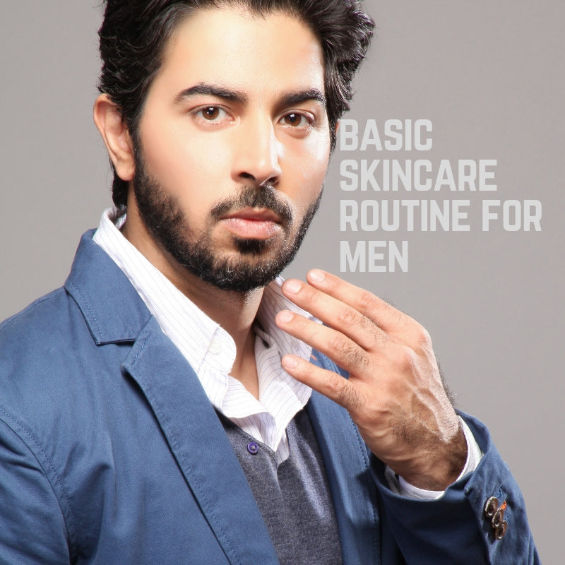 Basic Skincare Routine for Men - Youthful Skin in Under 1 Minute Per Day!