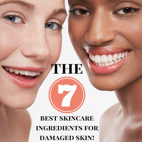 The 7 Best Skincare Ingredients for Healing Damaged or Aged Skin