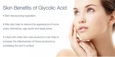 glycolic acid benefits