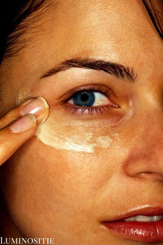 how to apply eye cream