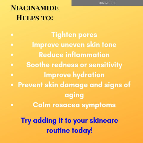 niacinamide cream for rosacea