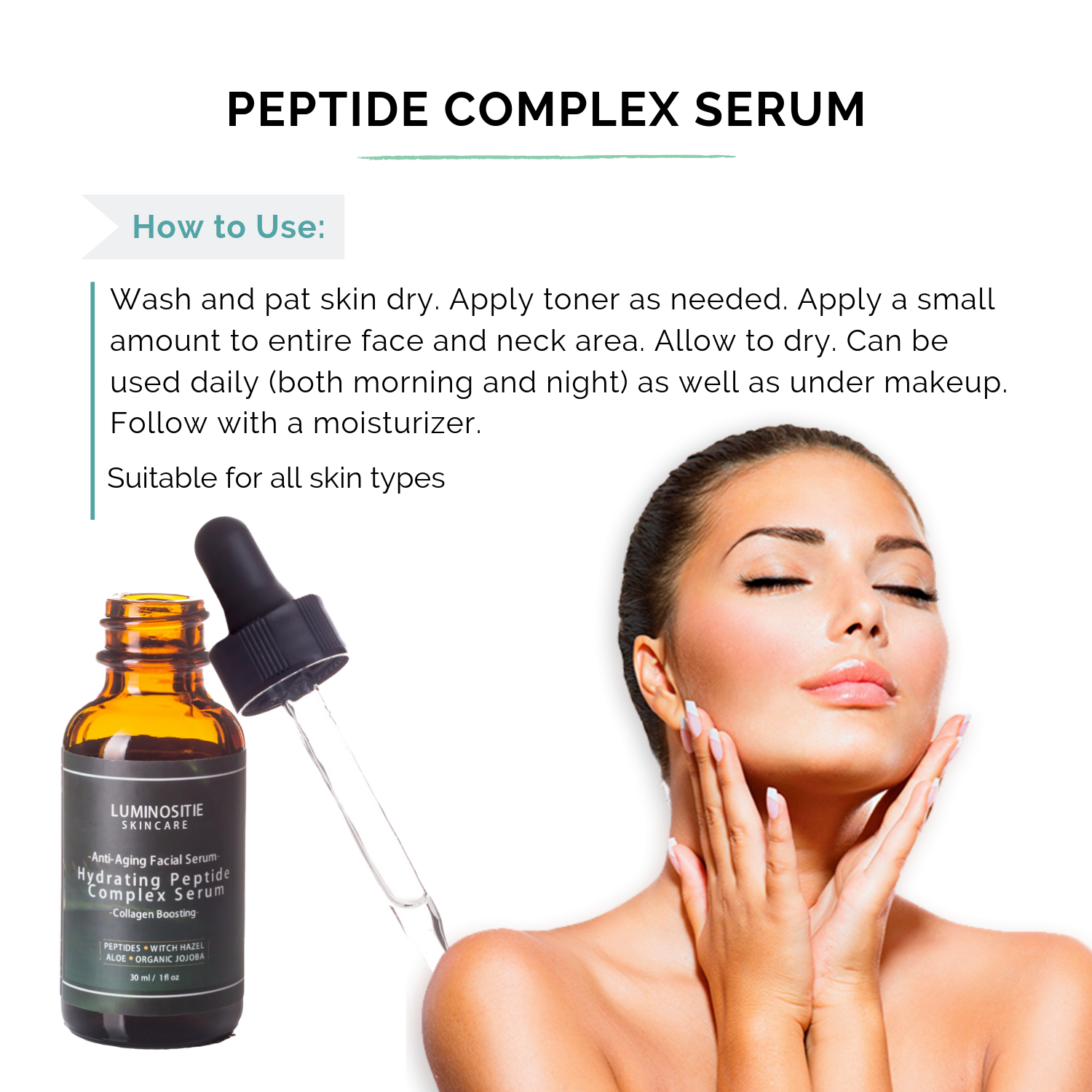 Hydrating Peptide Complex Serum - Luminositie