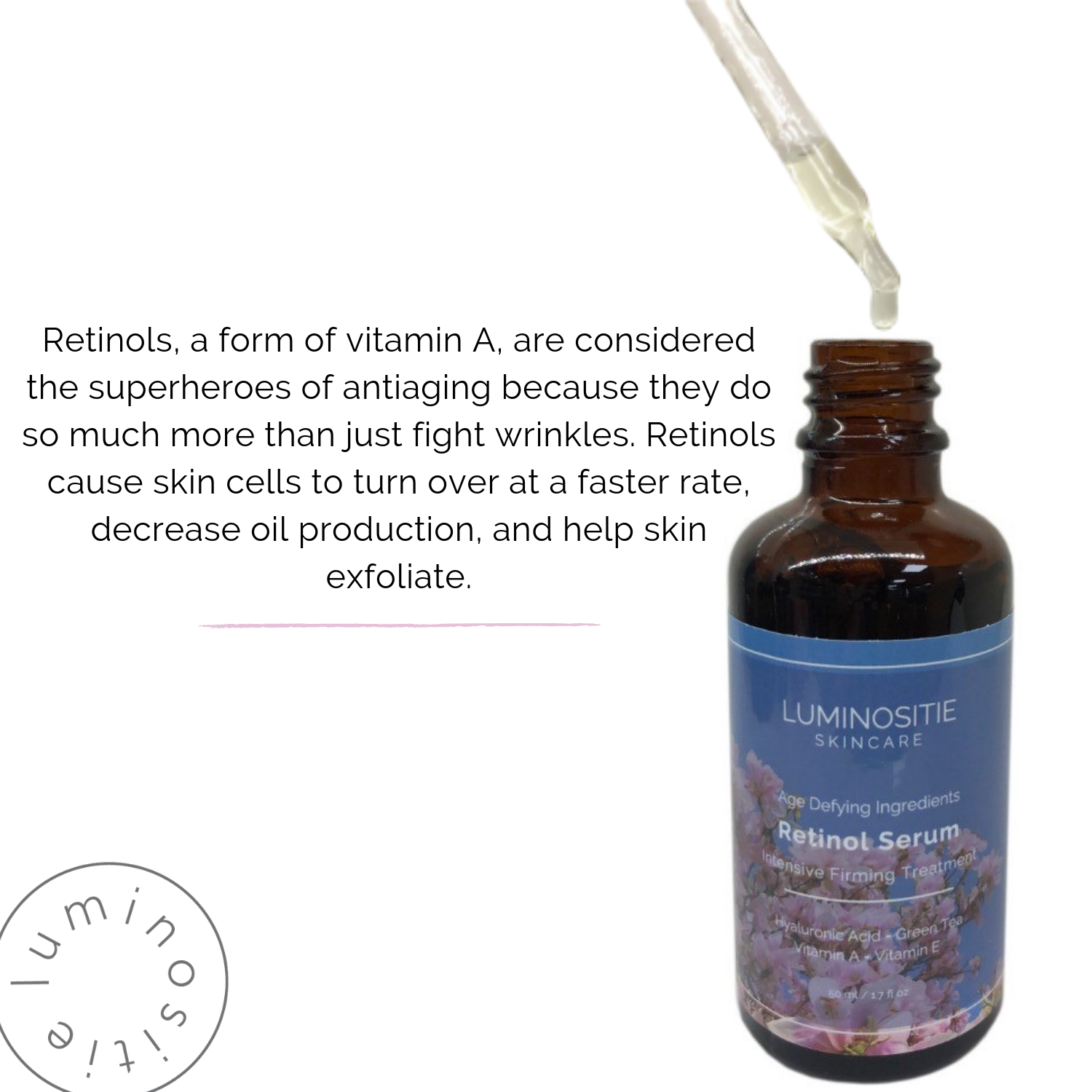 Retinol Serum (Vitamin A) - Luminositie