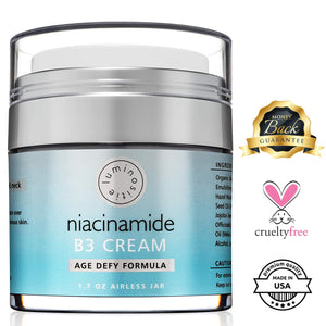 Niacinamide B3 Serum & Premium Anti Aging Cream - Luminositie