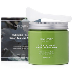 Hydrating Facial Green Tea Mud Mask - Luminositie