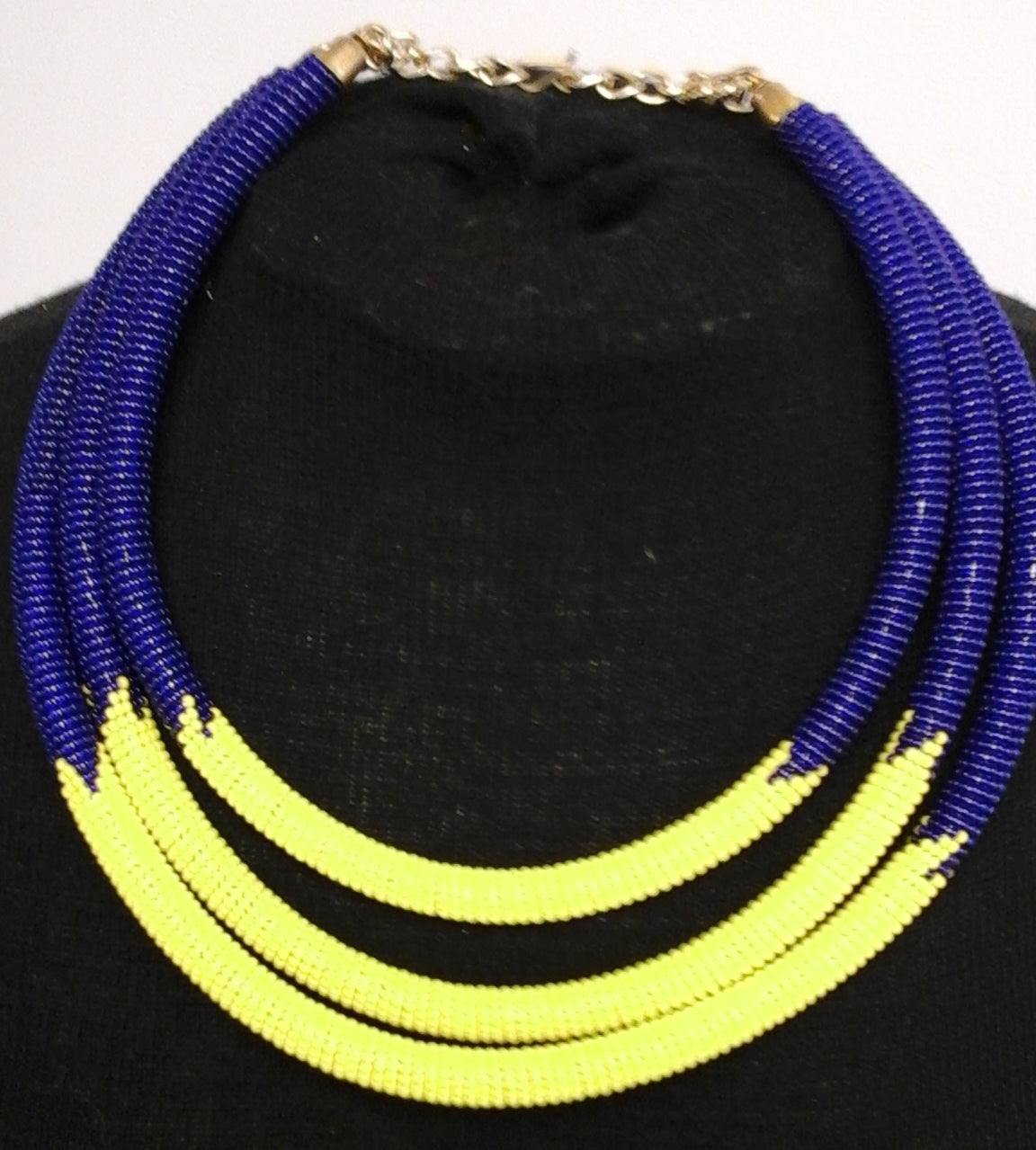 Triple Choker necklace